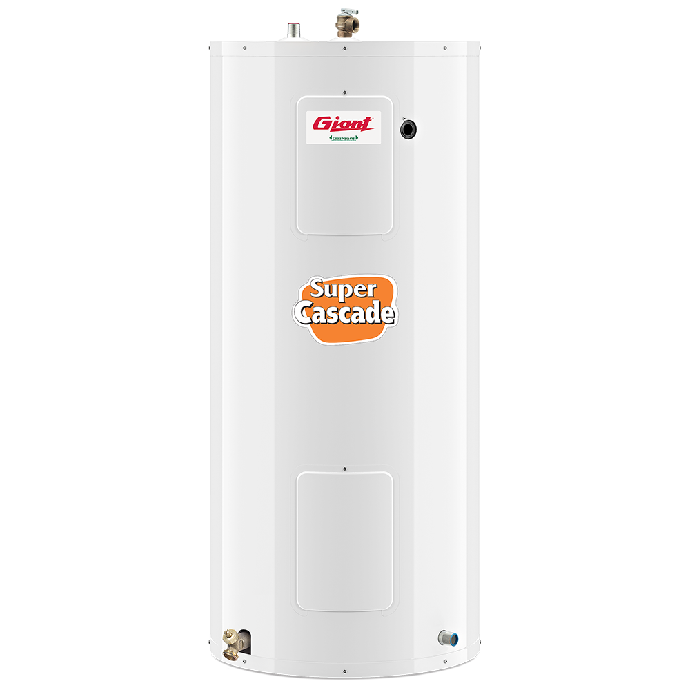 giant water heater serial number