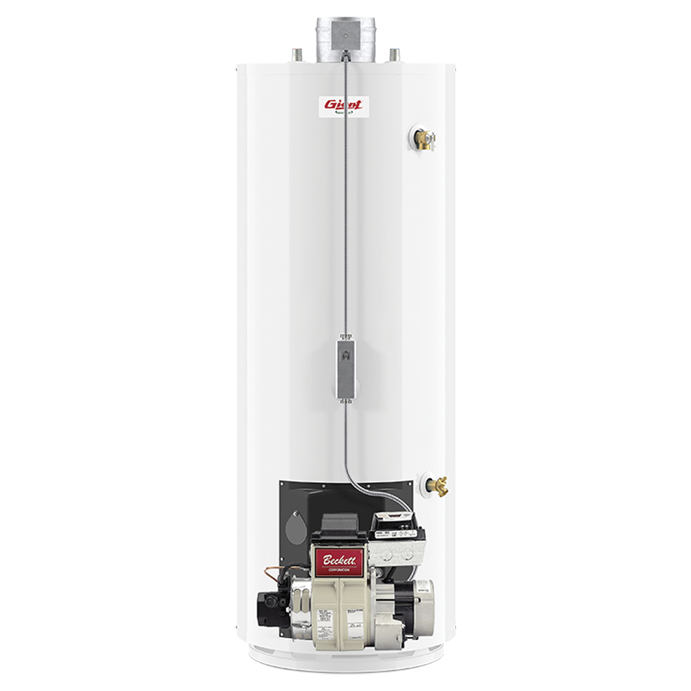 residential oil-fired water heater - 50 u.s. gal. | giant ... 50 gallon hot water heater diagram #9