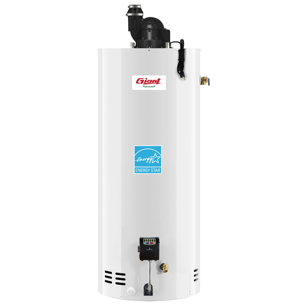 Residential Gas Fired Water Heater Power Vent 50 U S