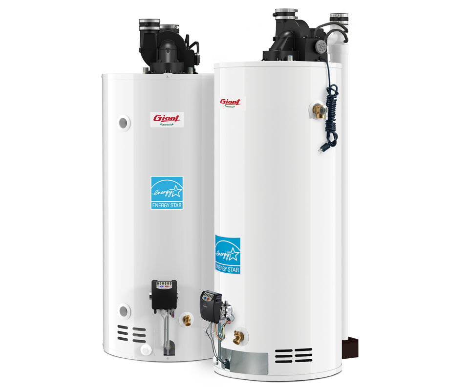 Residential Gas Fired Water Heaters Power Direct Vent
