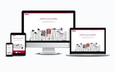 Lancement de notre nouveau site web